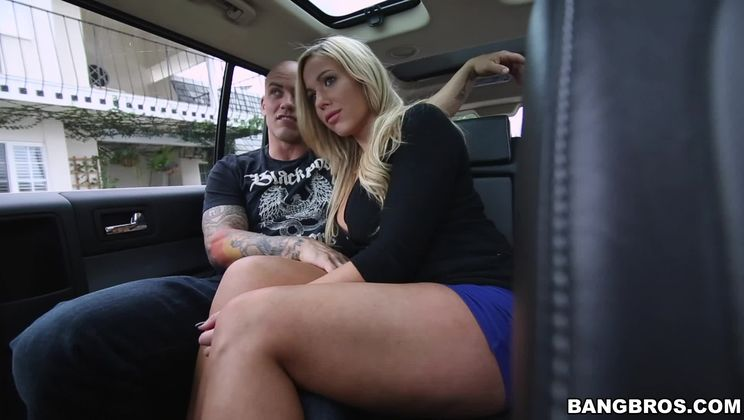 Stranded Thick Hot Blonde Gets Railed